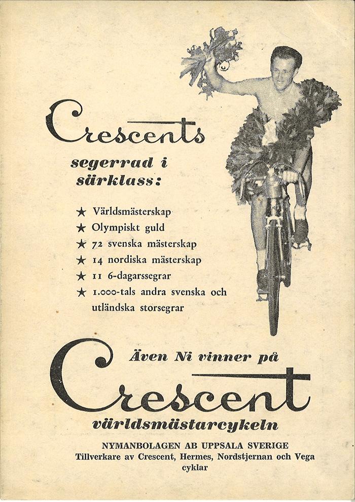 Crescentin historia